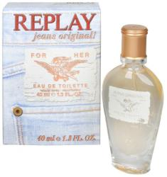 Replay Jeans Original for Her EDT 60ml Tester