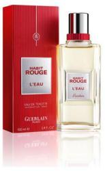 Guerlain Habit Rouge L'Eau EDT 100ml Tester