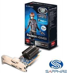 SAPPHIRE Radeon HD 6450 FleX 1GB GDDR3 64bit PCIe (11190-12-20G)
