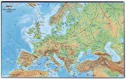 Victoria Európa domborzata