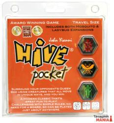 Gen42 Games Hive Pocket - Kaptár logikai útijáték