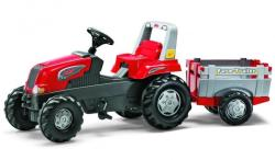Rolly Toys Tractor Cu Pedale Si Remorca 800261