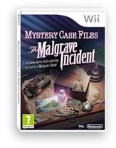 Nintendo Mystery Case Files The Malgrave Incident (Wii)