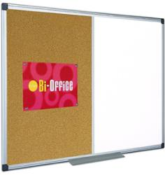 Bi-office PANOU COMBO 90X60 cm, whiteboard/pluta, BI-OFFICE