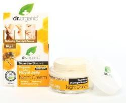 Dr. Organic Bio méhpempő éjszakai krém - 50ml