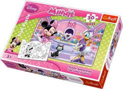 Trefl Minnie egér és Daisy kacsa 30 db-os (14165)
