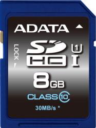 ADATA SDHC 8GB Class 10 ASDH8GUICL10-R