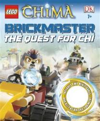 LEGO BOOK20 Chima Könyv The Quest for Chi Brickmaster