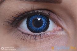 MaxVue Vision ColourVue Eyelush Kék (2db) - 3 havi
