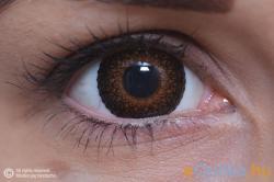 MaxVue Vision ColourVue Eyelush Barna (2db) - 3 havi