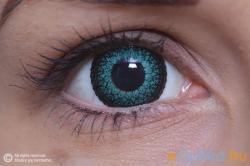 MaxVue Vision ColourVue Eyelush Zöld (2db) - 3 havi