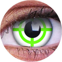 MAXVUE VISION Colourvue Crazy Zöld Célkereszt (2db) - 3 havi ... 1a930042d9