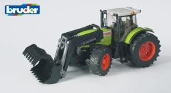 BRUDER Claas Atles 936 RZ traktor markolóval