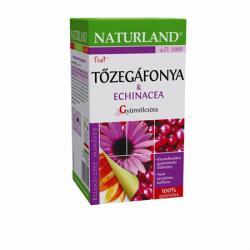 Naturland Gyümölcstea tőzegáfonya és echinácea 20 filter