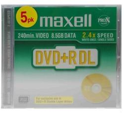 Maxell Dual Layer DVD+R 8.5GB 2.4x
