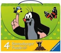 Ravensburger Puzzle 4 in 1 Kisvakond