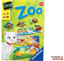 Ravensburger Logo Zoo - állat-anya kereső