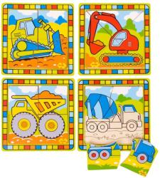 Bigjigs Toys Primul meu puzzle