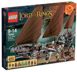 LEGO Lord of the Rings - Rajtaütés a kalózhajón 79008