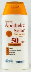 Jutavit Apotheke Solar naptej SPF 50 - 200ml