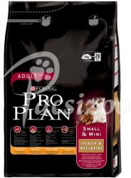 PRO PLAN Small & Mini Adult Health & Wellbeing 3kg