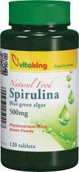 Vitaking Spirulina alga tabletta 120db