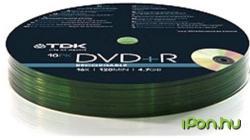 TDK DVD+R 4.7GB 16x - Henger 10db