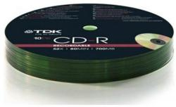 TDK CD-R 700MB 52x - Henger 10db