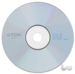 TDK CD-R 52x 700MB - Papírtok