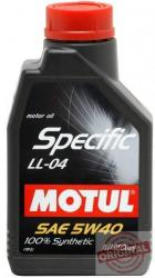 Motul SPECIFIC LL-04 5W-40 1L
