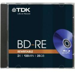 TDK BD-RE 25Gb 2X