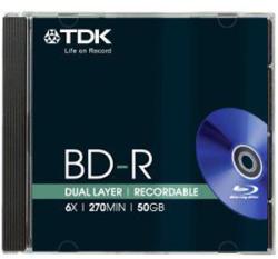 TDK BD-R 50Gb 4X - Dual layer
