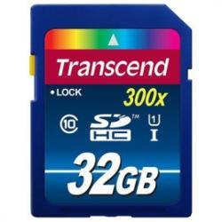 Transcend Premium SDHC 32GB Class 10 UHS-I 300x TS32GSDU1