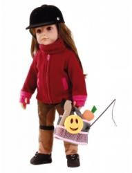 Götz Hannah imád lovagolni - barna szemű, barna hajú (2013) - 50 cm