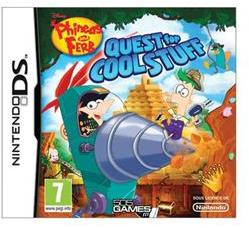 Disney Phineas and Ferb Quest for Cool Stuff (Nintendo DS)
