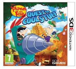 Disney Phineas and Ferb Quest for Cool Stuff (3DS)