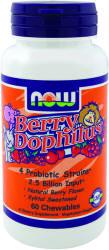 NOW Berry Dophilus rágótabletta 60db