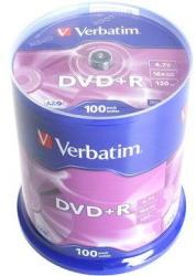 Verbatim DVD+R 4.7GB 16x - Henger 100db