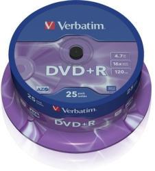 Verbatim DVD+R 4.7GB 16x - Henger 25db