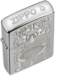 Zippo Crown Stamp High Polish Chrome 24751