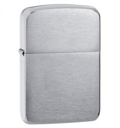 Zippo Replica Brushed Chrome 1941