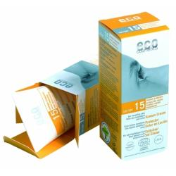 Eco Cosmetics Organikus napkrém homoktövis és olívaolajjal SPF 15 - 75ml