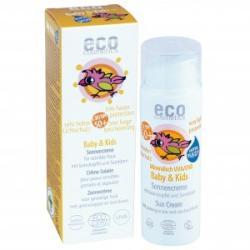 Eco Cosmetics Baby&Kids Organikus napkrém homoktövis és olívaolajjal SPF 50 - 50ml