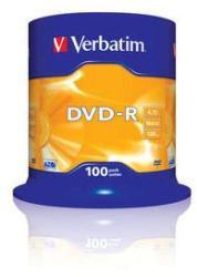 Verbatim DVD-R 4.7GB 16x - Henger 100db