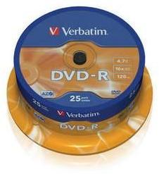 Verbatim DVD-R 4.7GB 16x - Henger 25db