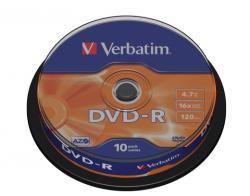 Verbatim DVD-R 4.7GB 16x Henger 10db