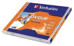 Verbatim DVD-R 4.7GB 16x - Nyomtatható Azo