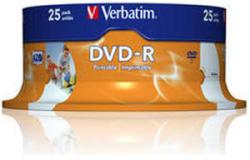 Verbatim DVD-R 4.7GB 16X - Шпиндел 25бр.