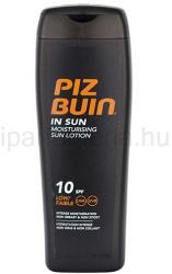 PIZ BUIN In Sun hidratáló napozótej SPF 10 200ml