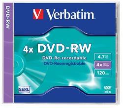 Verbatim DVD-RW 4.7GB 4x - SERL